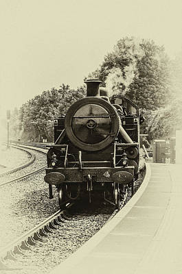 Photograph - Lms Ncc Class Wt 2 6 4t No 4 by Martina Fagan