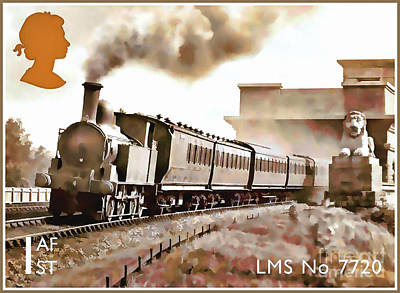 Painting - Lms No 7720 by Lanjee Chee