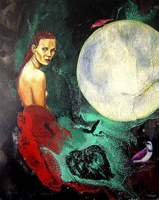 Expresive Painting - Lo Que Fue by Salome Hernaiz
