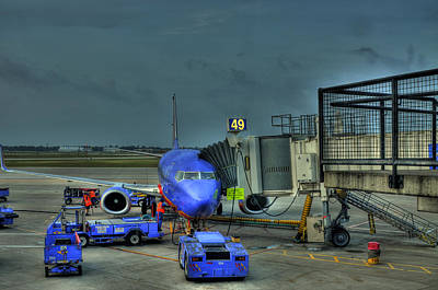 High Definition Photograph - Loading Luggage by Don Wolf