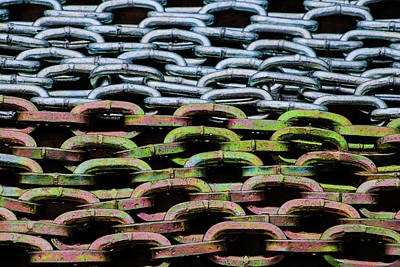 Photograph - Loads Of Chain by Perggals - Stacey Turner