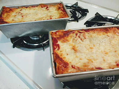 Photograph - Loaf Pan Lasagna 1 by Andee Design