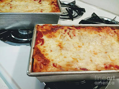 Photograph - Loaf Pan Lasagna 2 by Andee Design