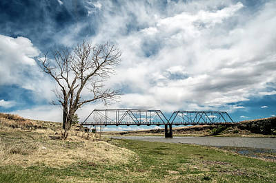 Lobato Bridge In Colorado Print by Mary Lee Dereske