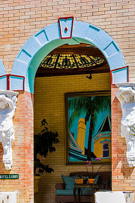 Photograph - Lobby Entrance At Southernmost House by Ed Gleichman