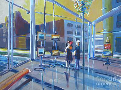 Bfa Painting - Lobby Gallery by Vanessa Hadady BFA MA