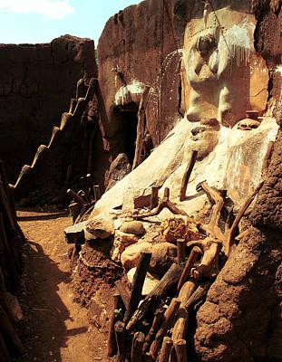 Photograph - Lobi Altar 1999 by Huib Blom