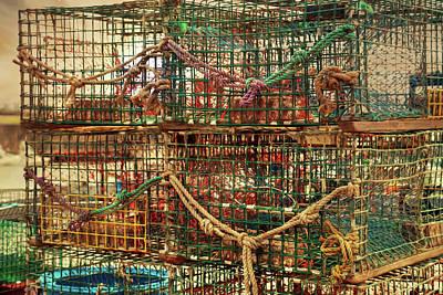 Photograph - Lobsta Traps by Lori Deiter