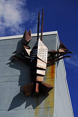 Photograph - Lobster Asbury Park New Jersey by Elsa Marie Santoro