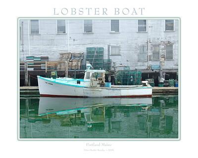 Lobster Boat Art Print by Peter Muzyka