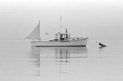Photograph - Lobster Boat by Robert Papps