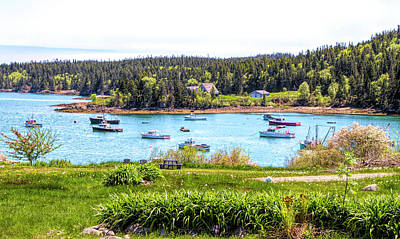 Photograph - Lobster Boats  by Betty Pauwels
