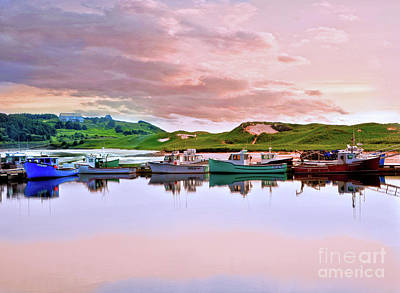 Photograph - Lobster Boats by Elaine Manley