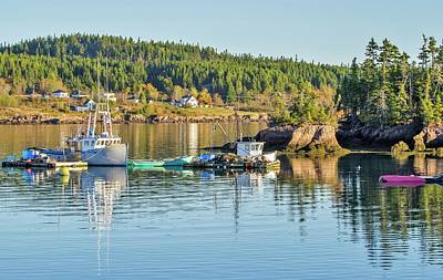 Photograph - Lobster Boats Ready by Roger Lewis