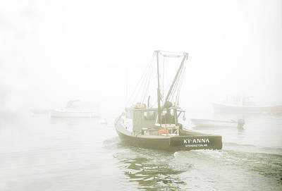 Photograph - Lobster Bot - Stonington, Maine by Gordon Ripley