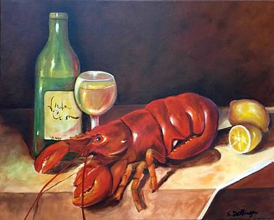 Painting - Lobster Fest  by Susan Dehlinger