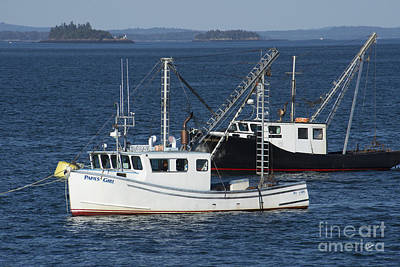 Photograph - Lobster Fishing Boats by Alana Ranney