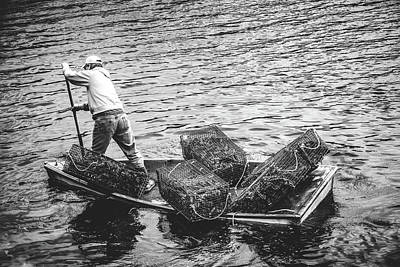 Photograph - Lobster Fishing by Robert Clifford