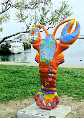 Photograph - Lobster Crawl by Janice Drew