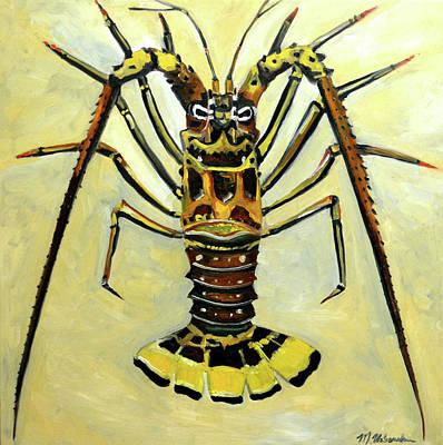 Painting - Lobster by Monika Urbanska