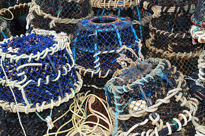 Photograph - Lobster Pots by Chris Day