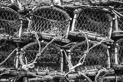 Photograph - Lobster Pots by Stewart Scott