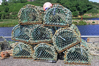 Photograph - Lobster Pots by Tony Murtagh