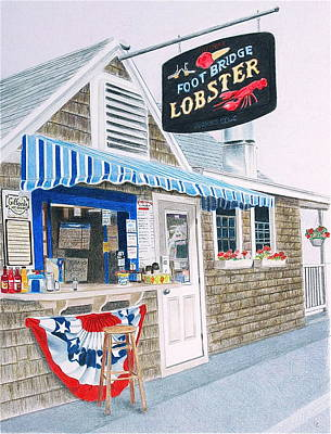 Lobster Shack Original by Glenda Zuckerman