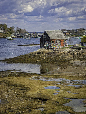 Photograph - Lobster Shanty by Gary Shepard