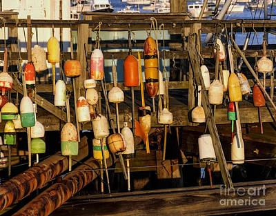 Photograph - Lobster Trap Marker II by Debra Fedchin