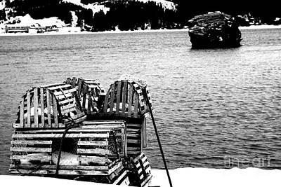Photograph - Lobster Traps by Annlynn Ward