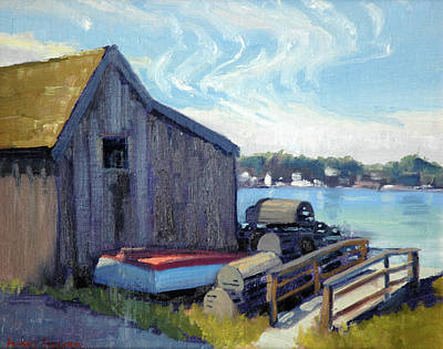 Painting - Lobster Traps by Armand Cabrera