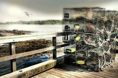 Photograph - Lobster Traps by Diana Angstadt