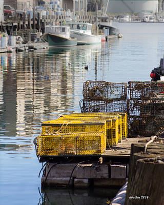 Photograph - Lobster Traps by Dick Botkin