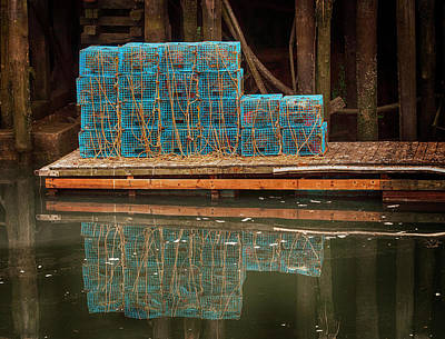 Photograph - Lobster Traps by Mick Burkey