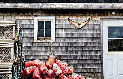 Photograph - Lobstering Shack by Carolyn Derstine