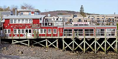 Photograph - Lobsters In Eagles Nest - Bar Harbor, Maine by KJ Swan