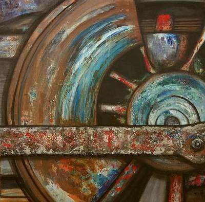 Painting - Loca Motive  by Kendra Sorum