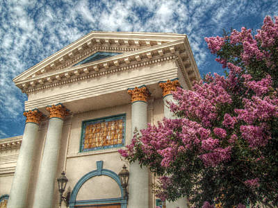 Greek Columns Digital Art - Local Culture by Cindy Nunn