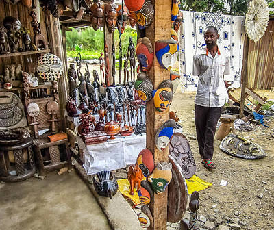 Photograph - Local Handicraft by Gregory Daley  PPSA