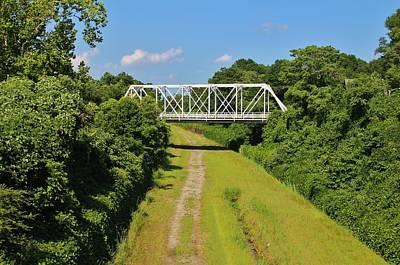 Photograph - Local Landmark Bridge by Cynthia Guinn