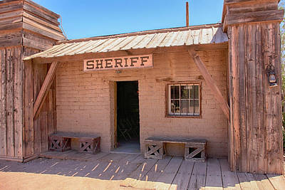 Photograph - Local Sheriff Tucson by Chris Smith