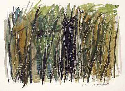 Painting - Local Thicket by John Williams