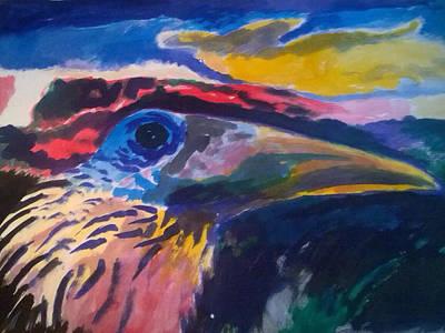 Painting - L'occhio Del Tucano by Enrico Garff
