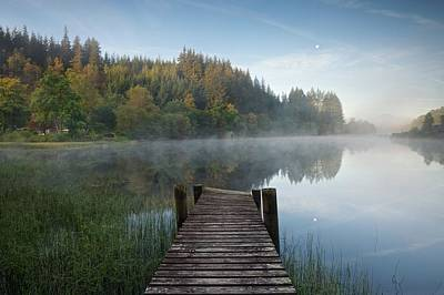 Photograph - Loch Ard Boathouse by Stephen Taylor