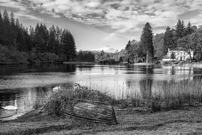 Photograph - Loch Ard In Aberfoyle by Jeremy Lavender Photography