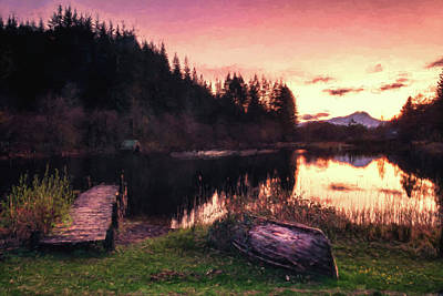 Photograph - Loch Ard Sunset by Sam Smith Photography