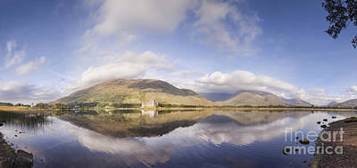 Loch Awe Panorama Art Print by Colin and Linda McKie
