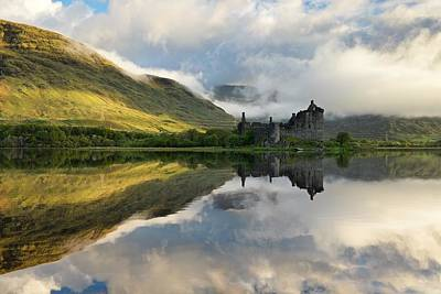 Photograph - Loch Awe Summer Reflections by Stephen Taylor