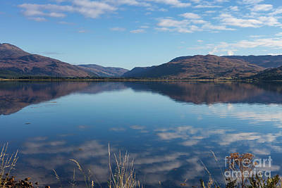 Photograph - Loch Carron From Lochcarron by Diane Macdonald